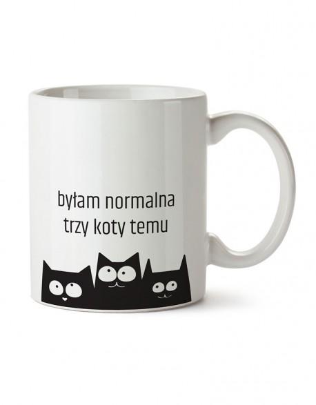 Kubek z Kotem - normalność