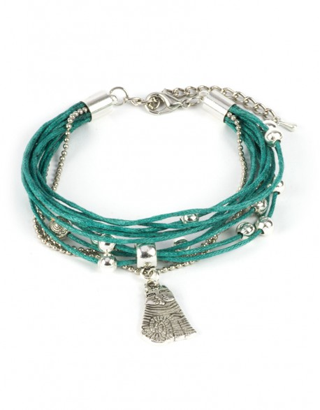 Bransoletka morskie sznurki z kotem