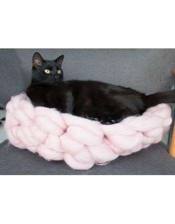 Legowisko dla kota z wełny Kotton Bed rozmiar S