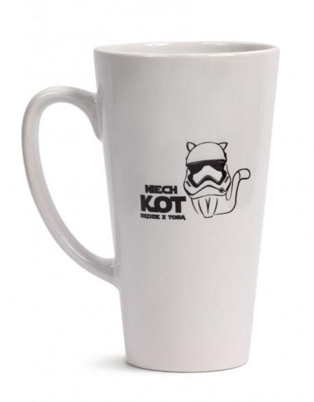 Kubek Latte Niech Kot Będzie z Tobą