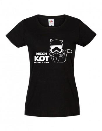 T-shirt Niech Kot będzie z Tobą