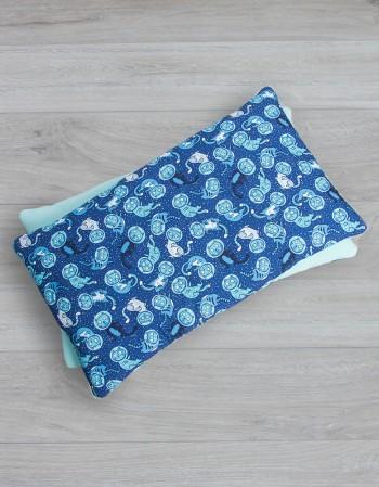 Bawełniana poduszka w koty 40x70 cm