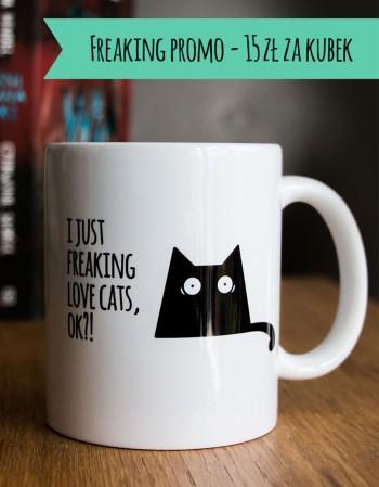 Kubek z Kotem - love cats